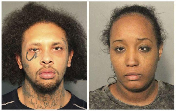 """Jonathan AllenetIna Rogers sont accusés d'avoir torturé leurs enfants à des """"fins sadiques"""". (AP/SIPA / AP)"""