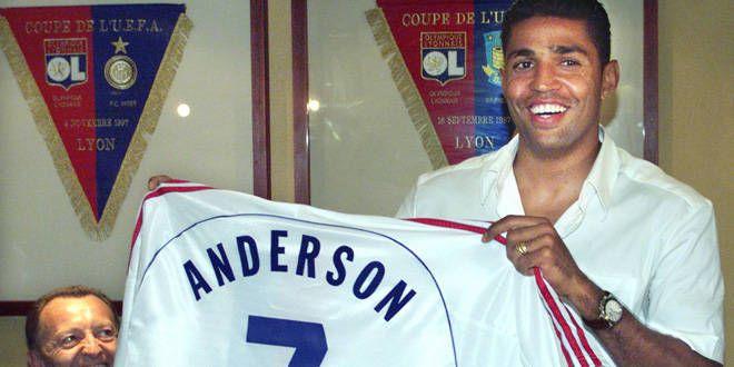 Sonny Anderson a rejoint l'OL en 1999 et y restera jusqu'en 2003