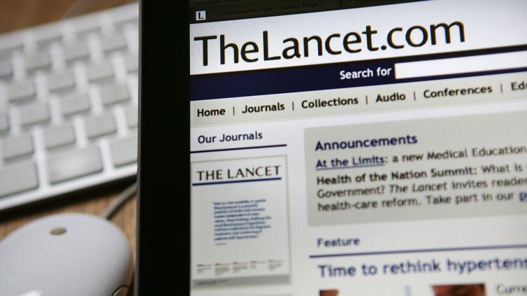 """""""The Lancet"""" a publié une étude sur l'hydroxychloroquine sans respecter """"ses propres règles"""", affirme le professeur de médecine Philippe Froguel. (LOIC VENANCE / AFP)"""