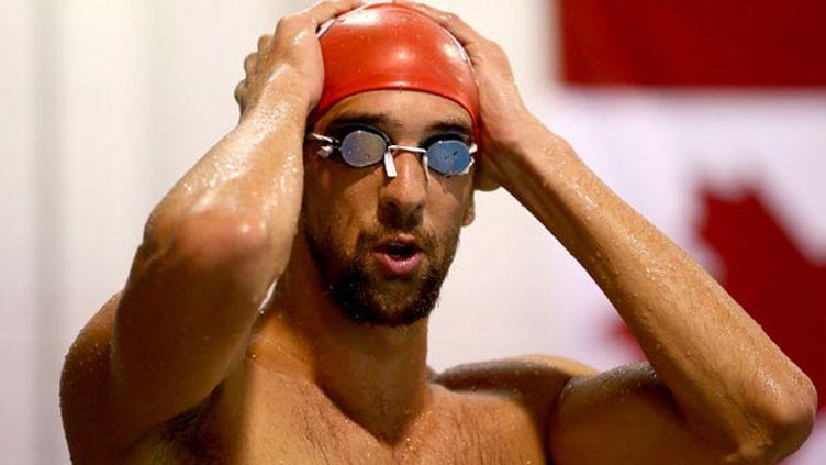 Le nageur américain recordman des titres olympiques (18), Michael Phelps