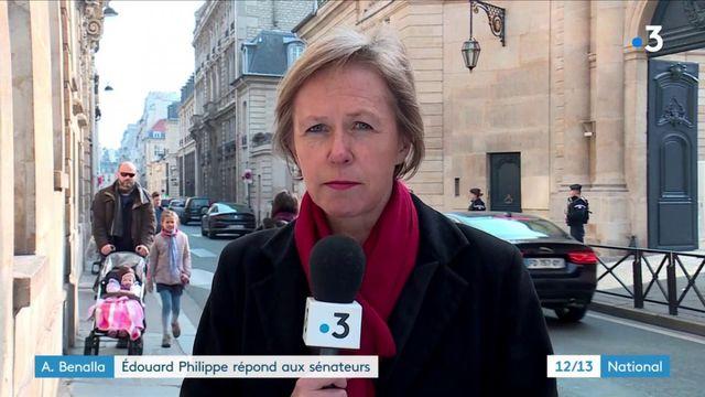 Affaire Benalla : Édouard Philippe répond aux sénateurs
