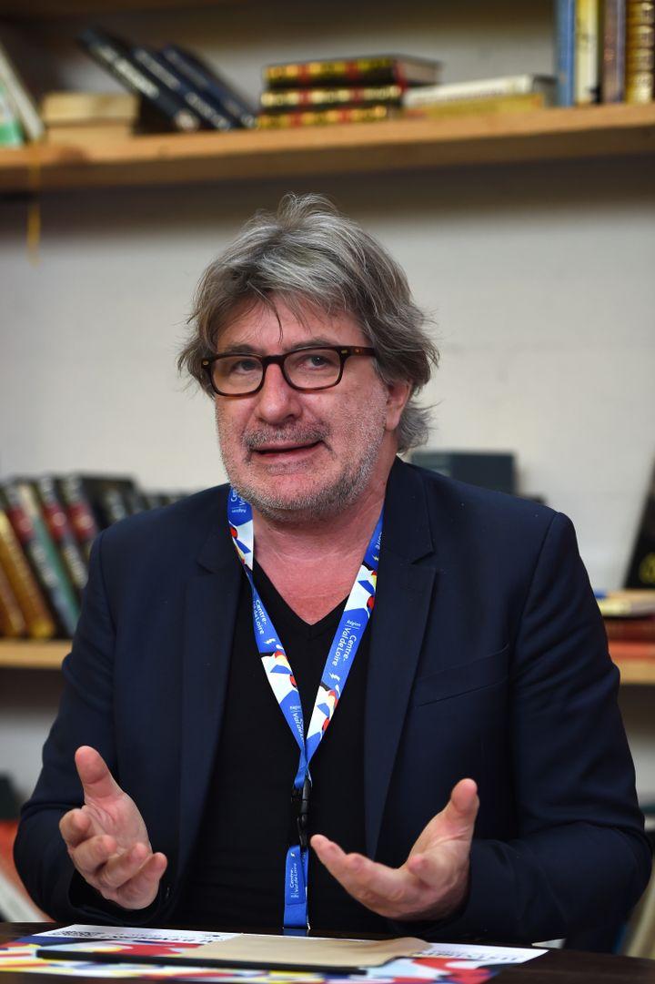 Gérard Pont, directeur des Francofolies, en 2018. (GUILLAUME SOUVANT / AFP)