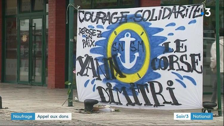 Las Sables-d'Olonne (Vendée) ont rendu hommage aux trois sauveteurs de la SNSM (France 2)