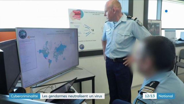 Cybercriminalité : des gendarmes français stoppent une attaque mondiale