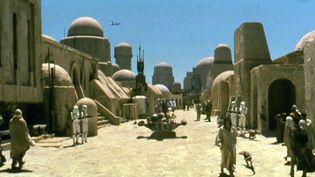 "Le premier ""Star Wars"" sorti en 1977 :""Episode IV - A New Hope"". (LUCASFILM / ARCHIVES DU 7EME ART)"