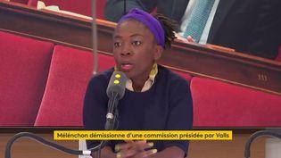 Danièle Obono, députée La France insoumise de Paris. (RADIO FRANCE)