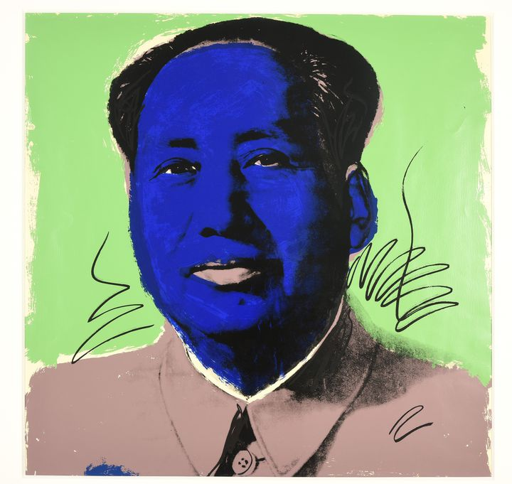 Mao par Andy Warhol, 1972 (C.DEVLEESCHAUWER)