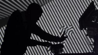 Stromae en concert à New York (21 juin 2014)  (Stan Honda / AFP)