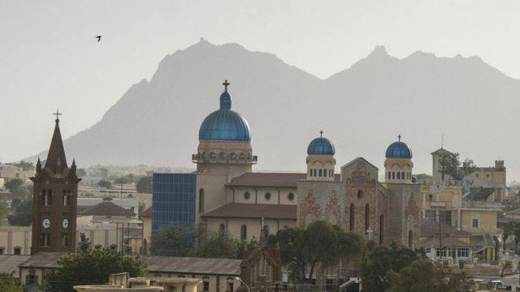 L'église orthodoxe de Saint-Antoine à Keren, sur les hauts plateaux d'Erythrée. (Michael Runkel / Robert Harding Premium / Robertharding)