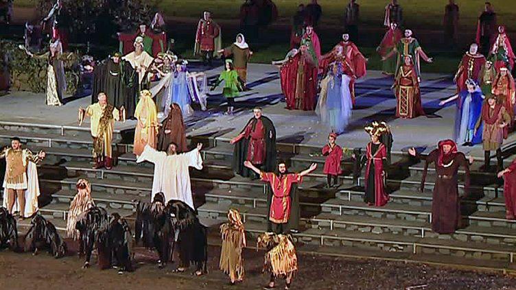 Une impressionnante fresque historique jouée chaque année à Autun  (France Télévision/culturebox)