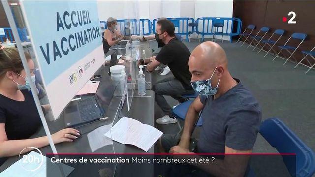 Covid-19 : les centres de vaccination seront-ils moins nombreux cet été ?