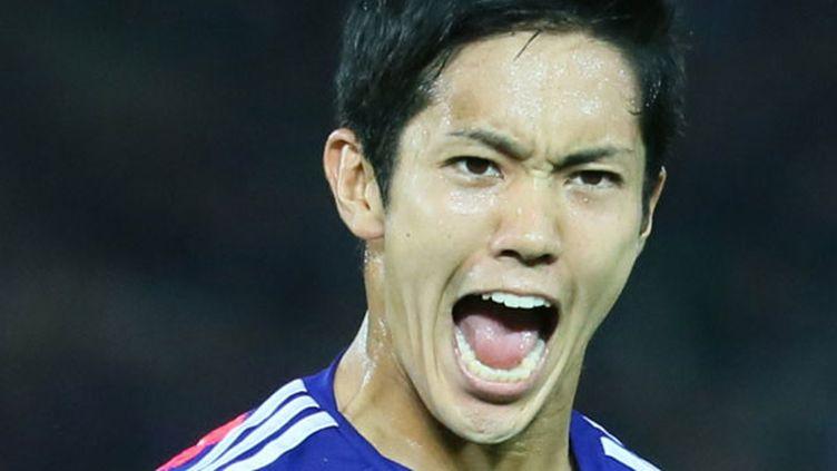 Le joueur japonais Yoshiro Muto
