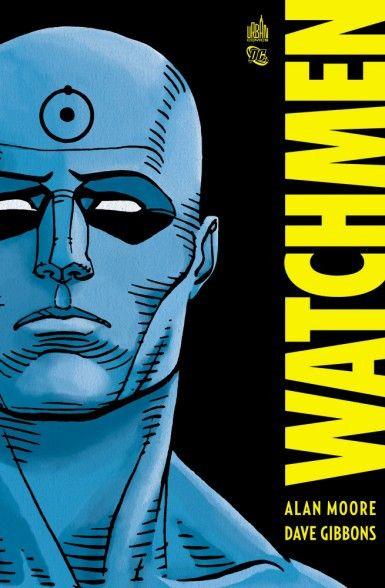 Watchmen est une série de comics d'Alan Moore et Dave Gibbons, publiée en 1986. (Urban Comics)