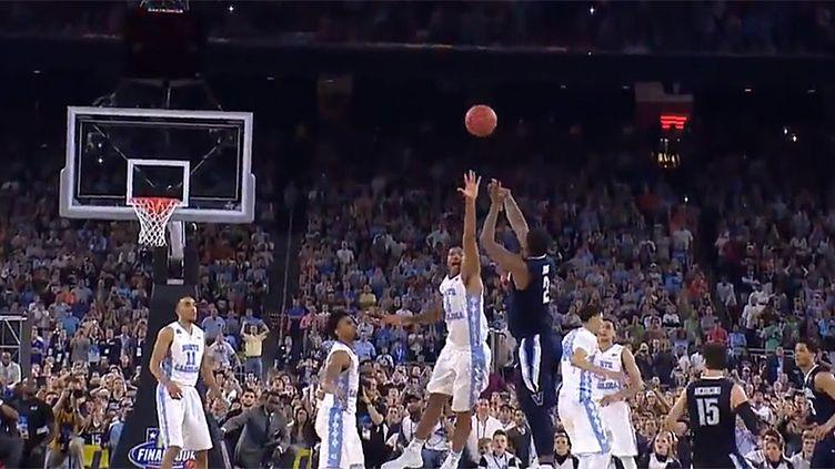Le shoot victorieux de Kris Jenkins au buzzer en finale NCAA