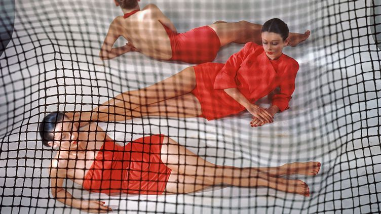 Red Bathing d'Erwin Blumenfeld chez YellowKorner  (Erwin Blumenfeld)