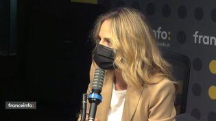 Claire Arnoux, journaliste à beIn Sports. (FRANCEINFO / RADIO FRANCE)