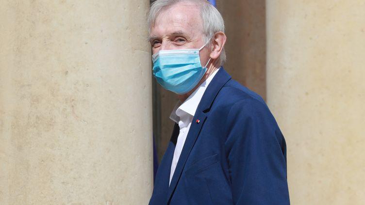 Jean Jouzel, le 29 juin 2020. (LUDOVIC MARIN / AFP)