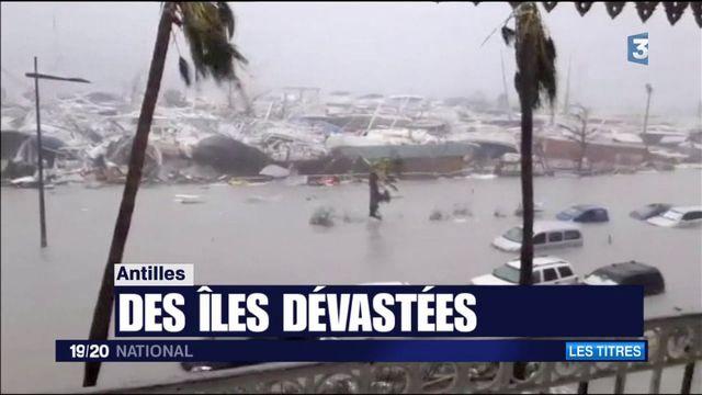 Ouragan Irma : des rafales sans précédent sur Saint-Martin et Saint-Barthélémy