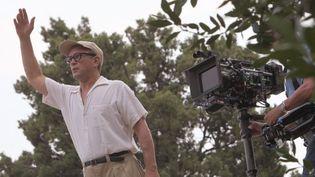 """Vincent Perez sur le tournage de """"The Price of desire"""" sur les hauteurs de Menton à la Villa E-1027  (PHOTOPQR/NICE MATIN)"""