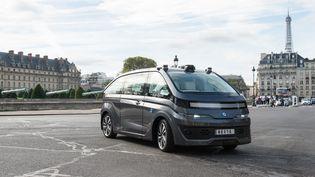 Le robot-taxi de Navya devrait être mis en service prochainement (Navya)