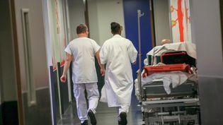 Le service des urgences du centre hospitalier de Douai (Nord), le 16 janvier 2014 (illustration). (THIERRY THOREL / MAXPPP / MAXPPP)