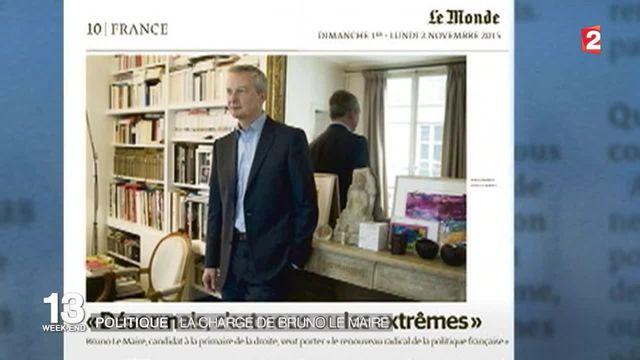 """Bruno Le Maire soupçonne François Hollande de faire monter """"délibérément"""" le FN"""