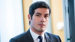 Mathieu Gallet, président de Radio France, le 5 décembre 2017, à Paris. (MAXPPP)