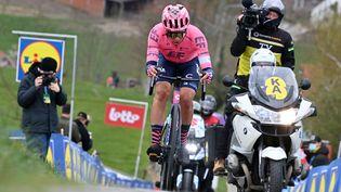 Stefan Bissegger a remporté la 4e étape du Tour de Suisse. (DIRK WAEM / BELGA)