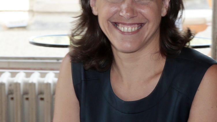 Agnès Roblot-Troizier, alors professeure de droit public à Evry (Essonne), le 25 juillet 2012. (JACQUES DEMARTHON / AFP)