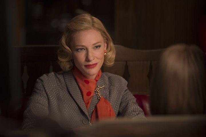 "Cate Blanchett dans ""Carol""  (Copyright Wilson Webb / DCM)"