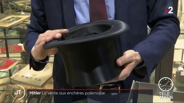 Allemagne : une vente d'objets d'Adolf Hitler fait scandale
