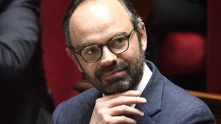 Edouard Philippe à l'Assemblée nationale, à Paris, le 10 avril 2018. (BERTRAND GUAY / AFP)