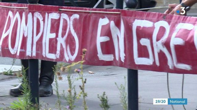 Gironde : en grève, les pompiers réclament plus de moyens