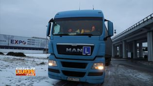 """Après le """"plombier polonais"""", le routier ukrainien (FRANCE 3)"""