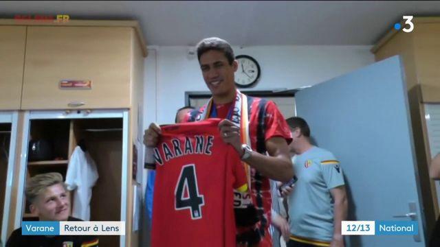 Raphaël Varane : le champion du monde de retour à Lens