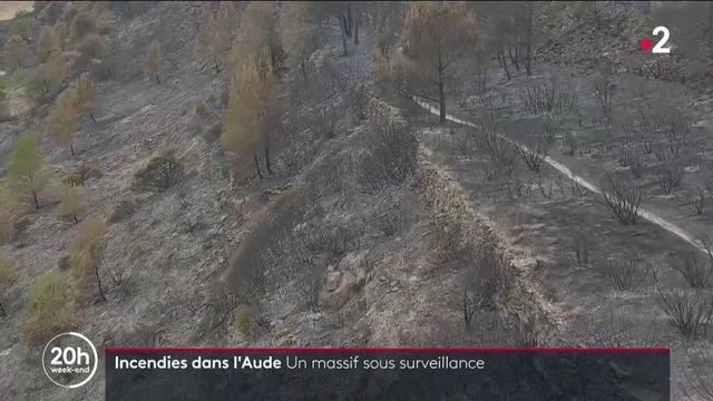 Aude : 850 hectares ravagés par un incendie