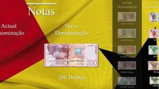 Les nouveaux billets et pièces de dobras seront en circulation le 1er janvier 2018 à Sao Tomé-et-Principe (Capture d'écran)