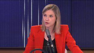 Agnès Pannier-Runacher, ministre déléguée à l'Industrie sur franceinfo mardi 22 septembre 2020. (FRANCEINFO / RADIOFRANCE)