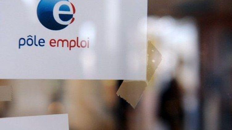 Le logo de Pôle Emploi (AFP)