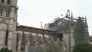 Notre-Dame-de-Paris : une maquette géante de la charpente reconstruite dans la Creuse (France 3)