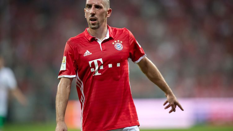 Le joueur français du Bayern Munich, Franck Ribéry