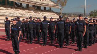 Ce sont 45 policiers municipaux de la ville de Nice (Alpes-Maritimes) qui vont défiler sur les Champs-Élysées à Paris pour le 14 juillet. (CAPTURE ECRAN FRANCE 2)