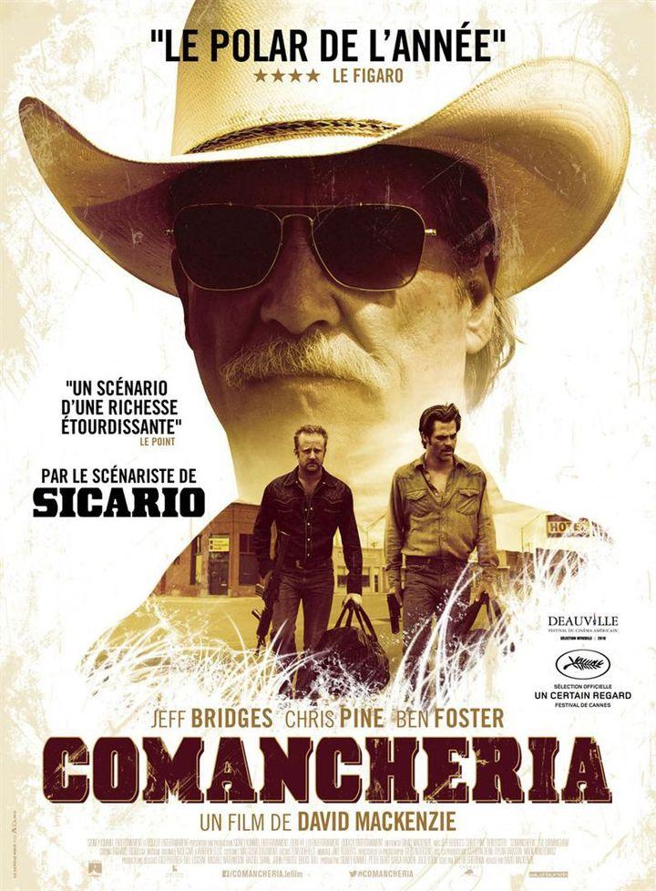"""""""Comancheria"""" : l'affiche française  (Wild Bunch Distribution )"""