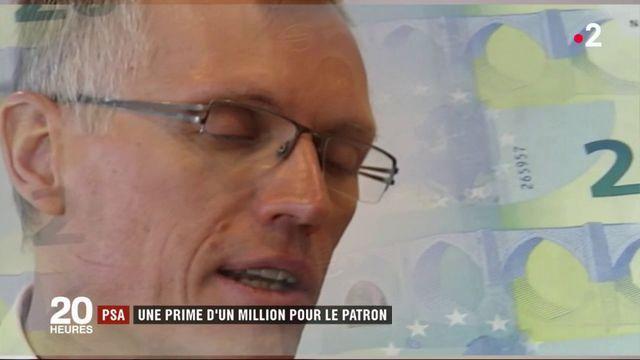 PSA : une prime d'un million pour le patron