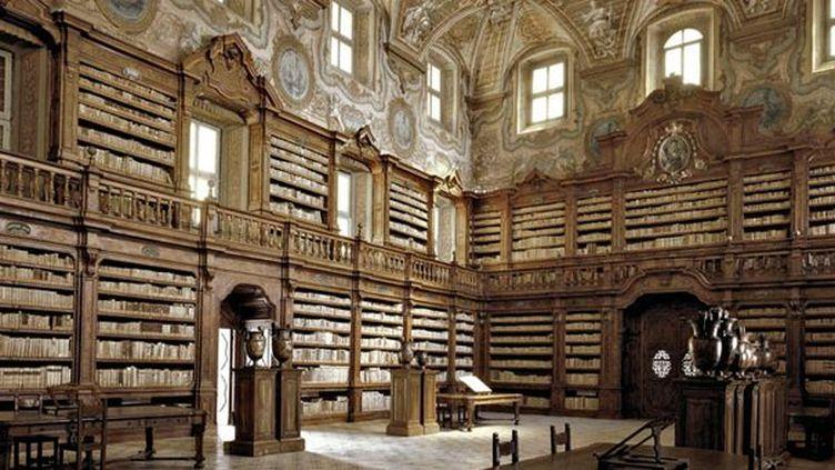 257 titres anciens ont été dérobés à la bibliothèque des Girolamini, à Naples  (DR)