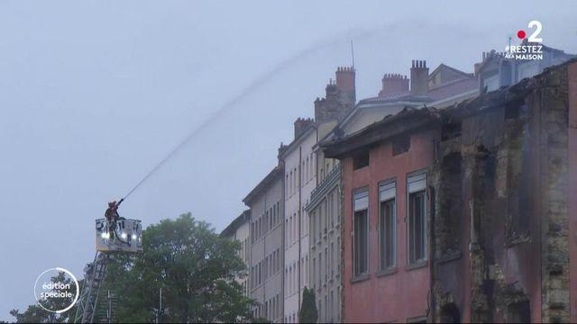 Rhône : un incendie fragilise un immeuble d'habitation à Lyon