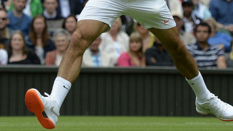 Les semelles de Roger Federer