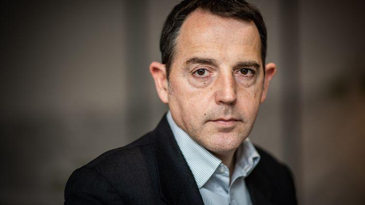 Le politologue Jérôme Fourquet, le 28 mars 2019. (MARTIN BUREAU / AFP)