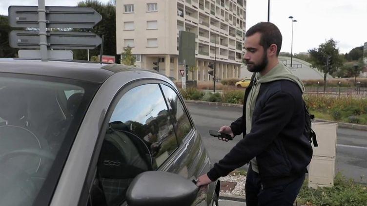 Automobile : la location de voitures entre particuliers devient tendance (FRANCE 2)