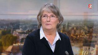 Jacqueline Sauvage, vendredi 6 janvier 2017 sur le plateau du journal de 20 heures de France 2. (FRANCE 2)